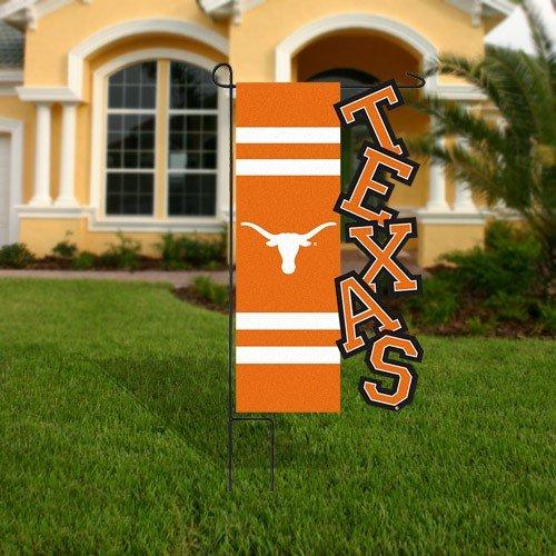 Evergreen Enterprises Texas Longhorns Applique Sculpted Garden Flag