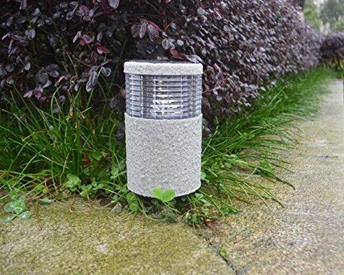 Giardino solare luci illuminazione da esterno unique cilindro