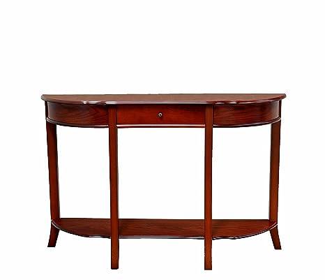 timeless design 680d2 e61f1 Amazon.com: Tall Narrow Console Table Entryway Table ...