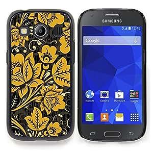 "S-type Mostaza Negro Vintage Wallpaper"" - Arte & diseño plástico duro Fundas Cover Cubre Hard Case Cover For Samsung Galaxy Ace Style LTE/ G357"