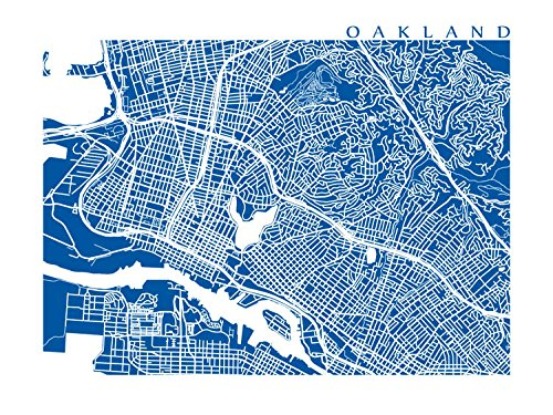 Oakland Map Print
