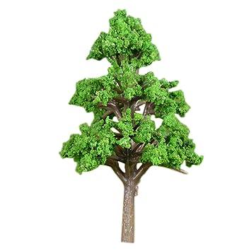 Amazonde Vosarea Künstliche Mini Baum Pflanzen Miniatur Garten