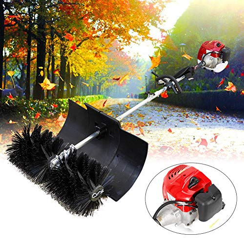 US DELIVER 52CC Gas Power Brush/Broom/Sweeper/Artificial Grass for Patios/Driveways/Street