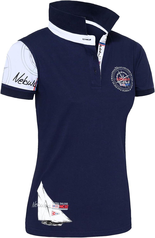 Nebulus Polo Poloshirt Deep-Blau Azul Oscuro XL: Amazon.es: Ropa y ...
