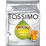 Factory Sealed Pack Tassimo T-Disc Pods Twinings Green Tea & Mint - Bumper Pack 16 Servings