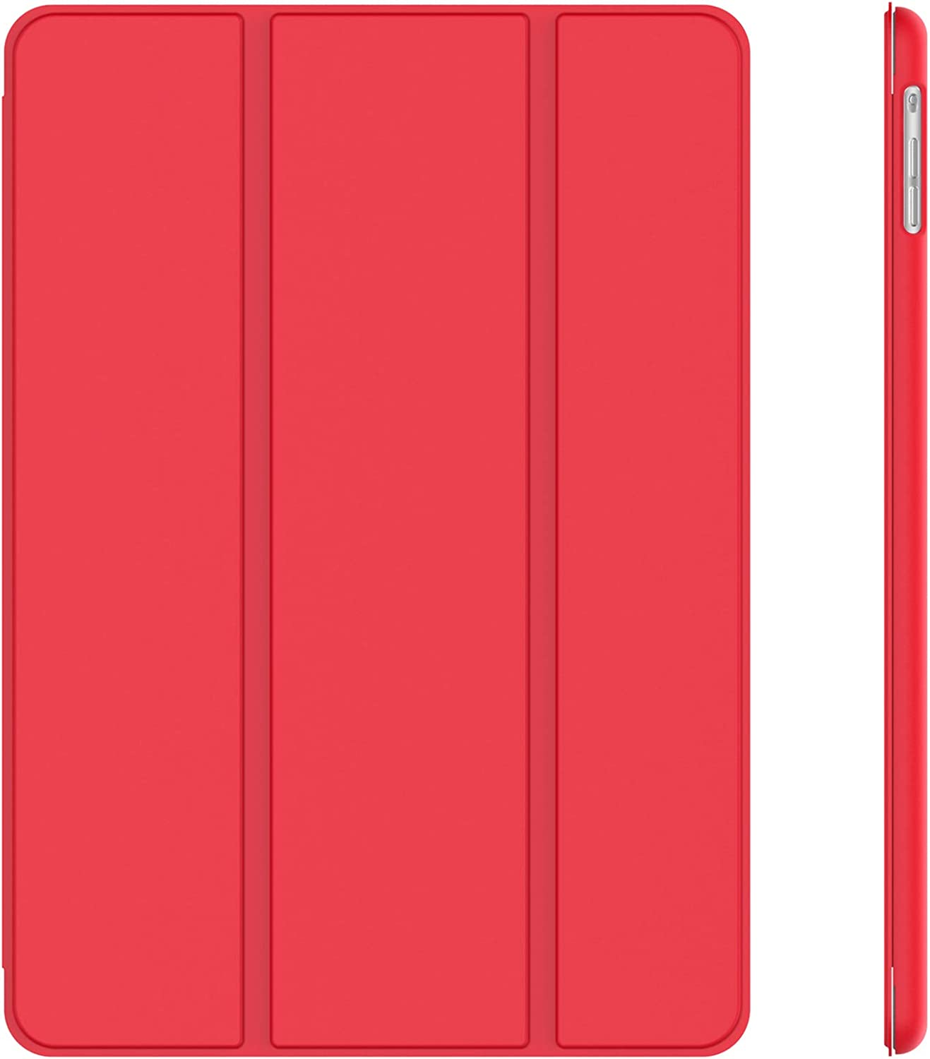 JETech Case for iPad Air 1st Edition (NOT for iPad Air 2), Smart Cover with Auto Wake/Sleep, Red