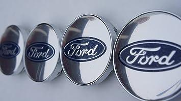 Juego de 4 llantas Ford de aleación, tapacubos (tamañ ...