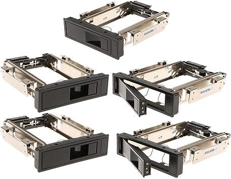 D DOLITY 5個 3.5インチSATA HDD ハードディスク モバイルラック トレイ不要 ホットスワップ対応