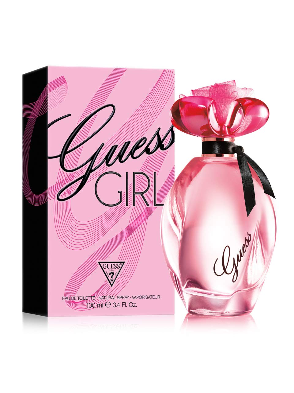 GUESS Girl Eau de Toilette Spray for Women, 3.4 Ounce