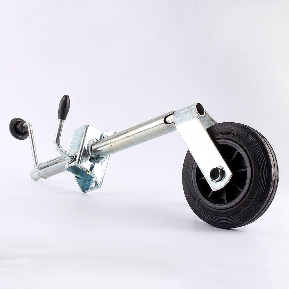 lyrlody Roue de Remorque avec 1 Collier pour Remorque Caravane Roue pour Remorque 35 mm