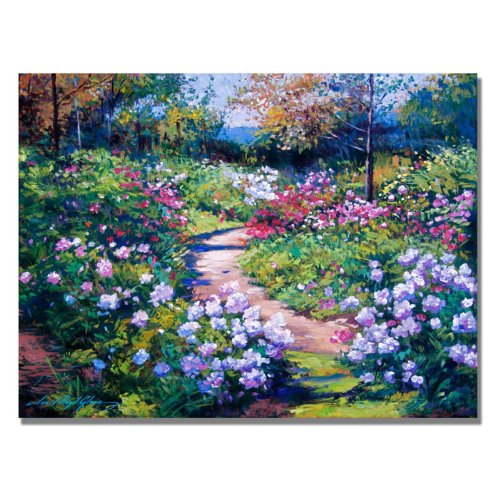 Natures Garden by David Lloyd Glover, 24x32-Inch Canvas Wall Art (David Lloyd Glover Garden)