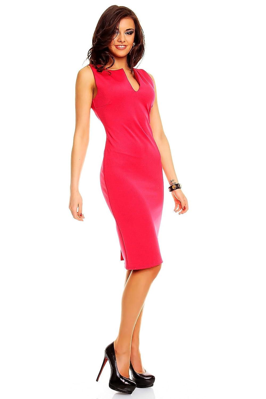 Mayaadi Knielanges Business Kleid Minikleid Partykleid Sommerkleid Ballkleid