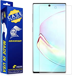 ArmorSuit MilitaryShield Screen Protector for Samsung Galaxy Note 10+ Plus (6.8 inch Display)(Case Friendly) Anti-Bubble HD Clear Film