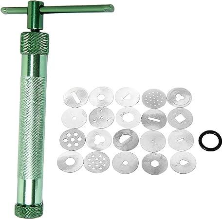Extruder Ton Handwerk Maschine mit 20/Scheiben Extruder Kuchen Zucker Handwerk Dekoration