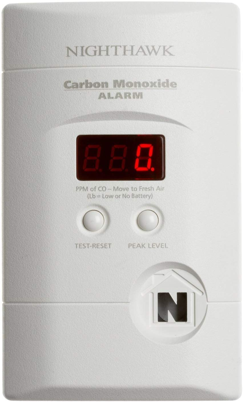 Kidde KN-Copp-3 KN-COPP-3-2PK 900-0076-01 Ac Powered, Plug-in Carbon Monoxide Alarm 2 Pack , White, 2 Each Piece, Pack of 5
