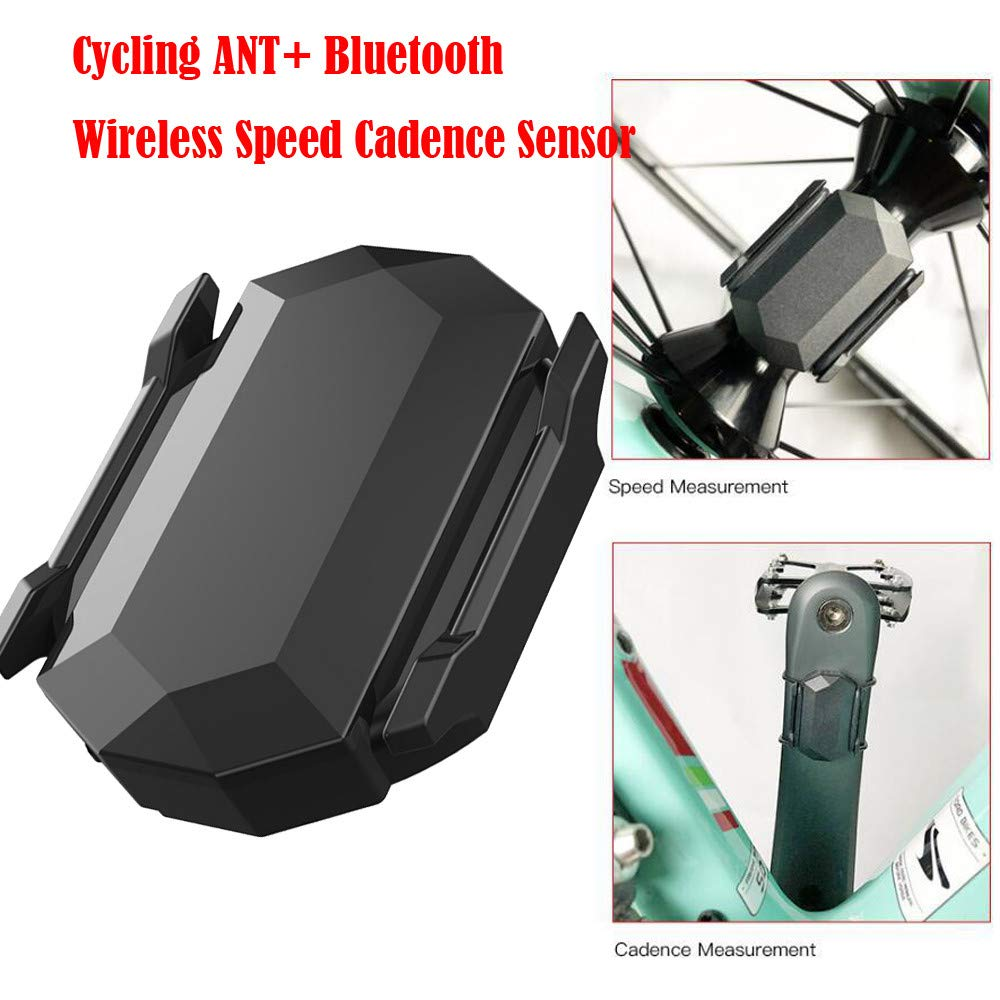 Amazon.com : Vovomay Cycling ANT+ Bluetooth Wireless Speed Cadence Sensor for Garmin Bryton Bike GPS : Sports & Outdoors