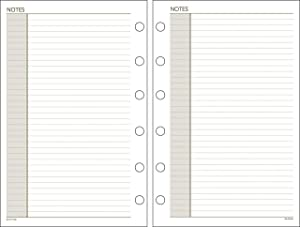 "AT-A-GLANCE Day Runner Notes Pages, 87228 DAY-TIMER, Loose-Leaf , Undated, 5-1/2"" x 8-1/2"", Size 4, 30 Sheets/Pack (011-200)"