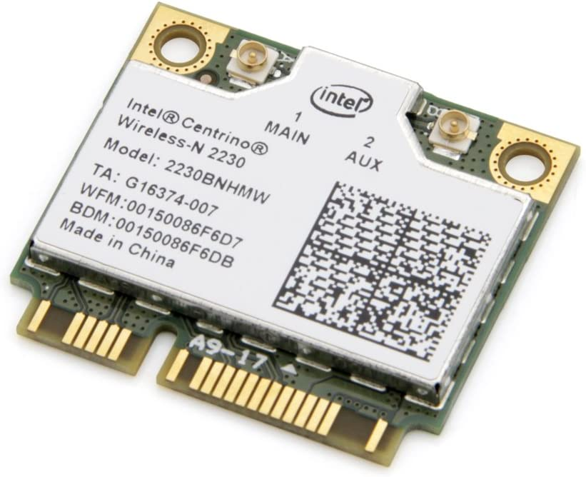 Intel Centrino Wireless-N 2230 Wi-Fi Card 2230BNHMW 802.11b/g/n Bluetooth 4.0 300Mbps not for IBM/Lenovo/Thinkpad and HP