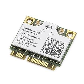 Intel Centrino Wireless-N 2230 Wi-Fi Card 2230BNHMW 802.11b/g/n Bluetooth 4.0 300Mbps