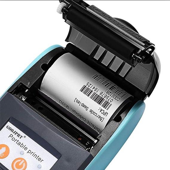 Amazon.com: Haihuic Mini Impresora Térmica Inalámbrica ...