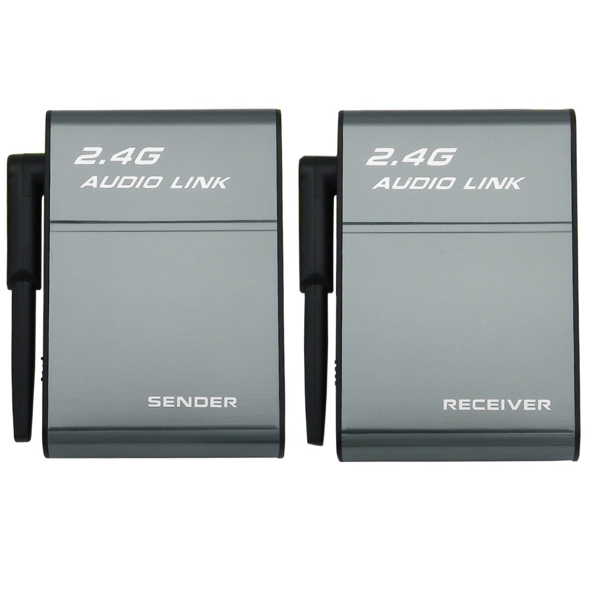2.4G Digital Wireless Audio Transmitter Sender & Receiver Adapter for HiFi Home Theater System Speaker Amplifier by HopCentury