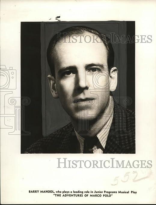 Vintage Photos 1942 Press Photo Barry Mahool Estrellas en Las ...
