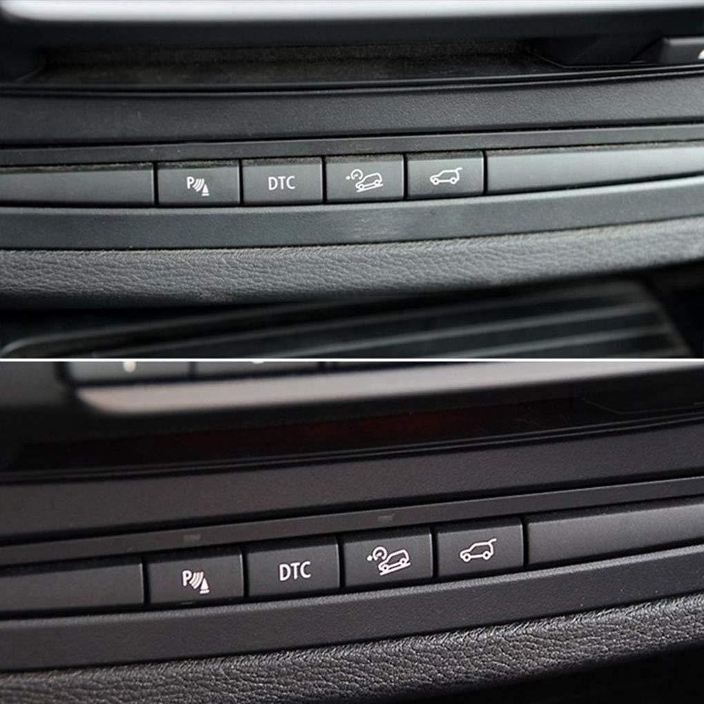 Hotaluyt Sensor de Aparcamiento bot/ón del Interruptor Cubierta de Repuesto para BMW X5 E70 E71 X6 06-13 08-14 61319414020