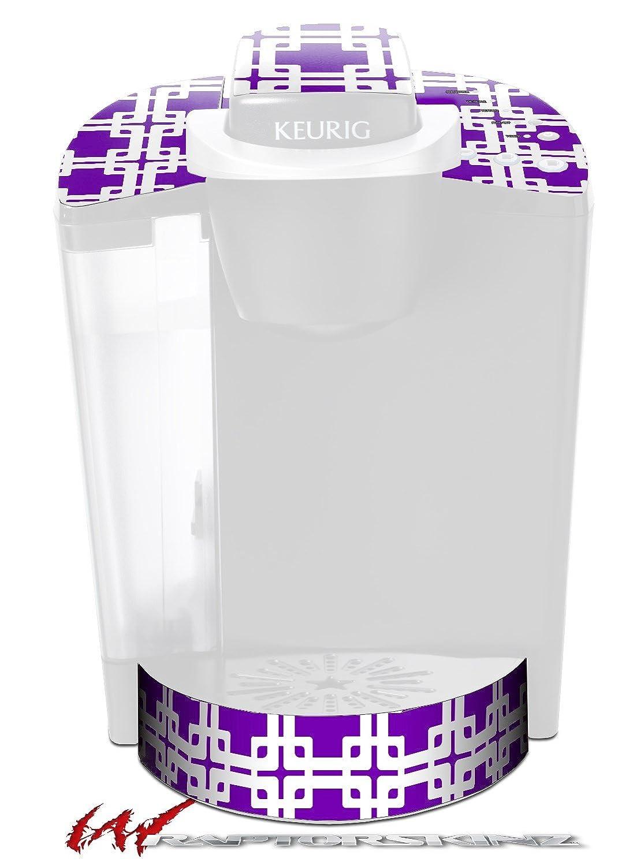 Boxedパープル – デカールスタイルビニールスキンFits Keurig k40 Eliteコーヒーメーカー( Keurig Not Included )   B017AKERBA