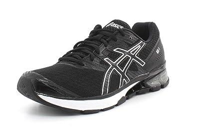 ASICS Mens Gel-1 Black Onyx Silver Running Shoe - 8 eacb9cb3f5a0