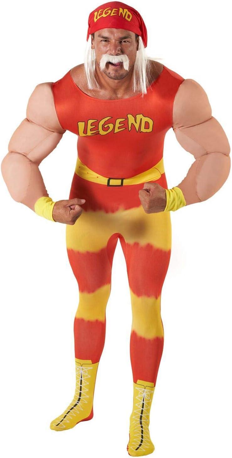Morph clásico WWE Leyenda Adultos Disfraces de Halloween Carnaval ...