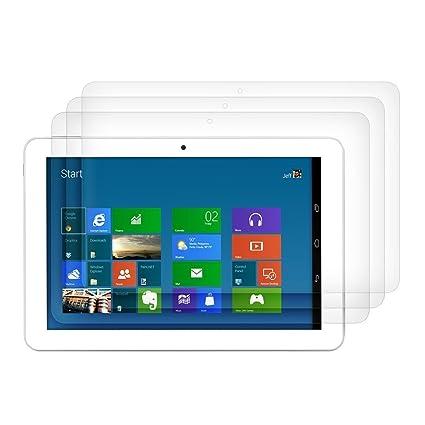 3 packs x ELTD Prima Borrar protectores de pantalla para Lenovo Yoga Tab 3 Plus 10.1, HD Clear
