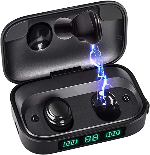 Bluetooth Earbuds Wireless Stoga Ear Buds For Sport Wireless Bluetooth 5 0 Tws True Wireless Earbuds Ipx7 Waterproof Earphones With Charging Case Amazon Ca Cell Phones Accessories