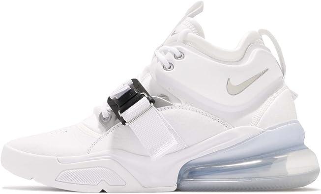Gran universo Respetuoso sangrado  Nike Air Force 270 Mens Ah6772-100 Size 7.5 White/Metallic Silver:  Amazon.ca: Shoes & Handbags