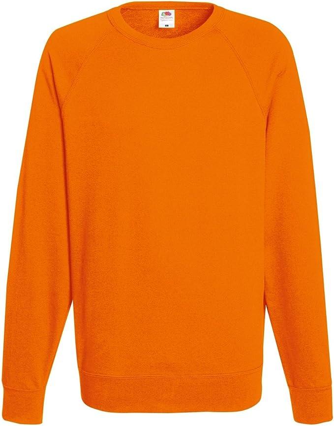 2er Pack Herren Lightweight Raglan Sweatshirt Fruit of the Loom Öko-Tex 62-138-0