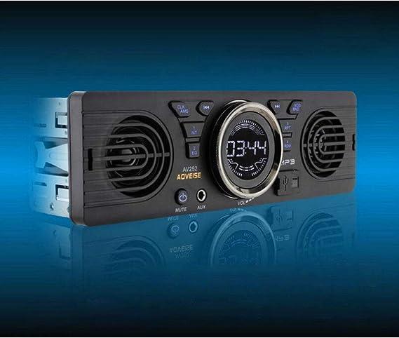 Dongmao 1 Din Av252 Autoradio Bluetooth Freisprecheinrichtung Stereo Fm 2 Eingebaute Lautsprecher Unterstützt Usb Sd Aux Audiowiedergabe Auto