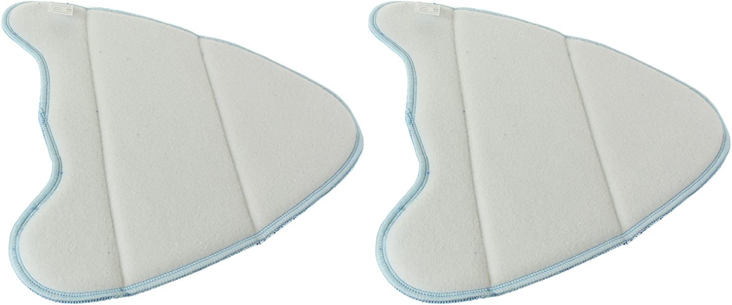 Spares2go Microfibre Cleaning Pads For Vax S2 S2S S2C S2S-1 S2ST Series Steam Cleaner Mops