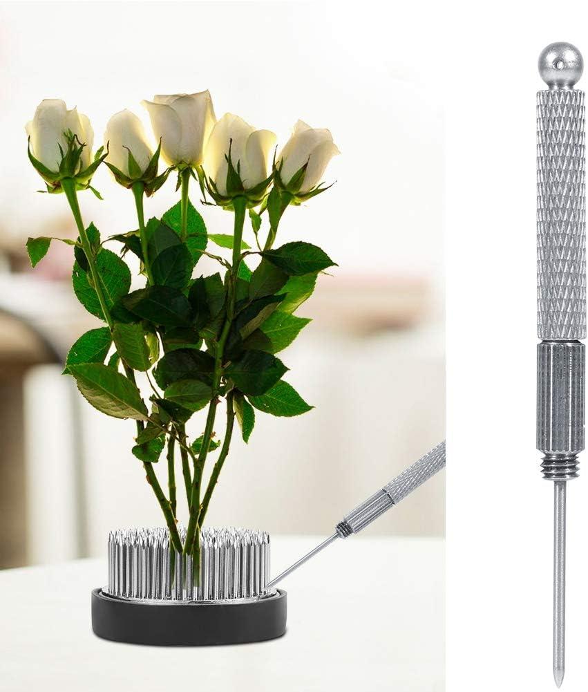 AUNMAS 2 Pouces Outil darrangement de Fleurs Kenzan Outil de Nettoyage pour Le redresseur daiguilles pour laffichage de Fixations de Fleurs