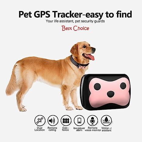 Somedays MiNi GPS rastreador impermeable para perros y gatos localizador collar para perro gato largo de