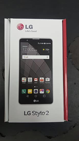 Lg Stylo 2 K540 Cricket Wireless Smart Phone Unlocked Black