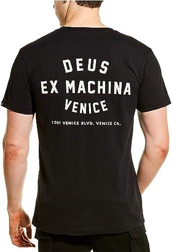 Deus Ex Machina Venice Skull T-shirt Short Sleeve Black All Sizes