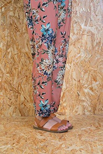 Wood Ibon Sandales 36 tulip Velcro Cuir Nf30 Femme S5d11qw