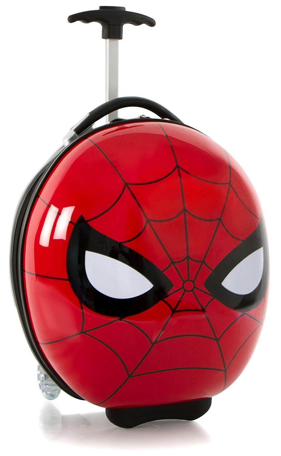 Heys America Marvel Spiderman Boy's 16'' Rolling Carry On Luggage [Red]