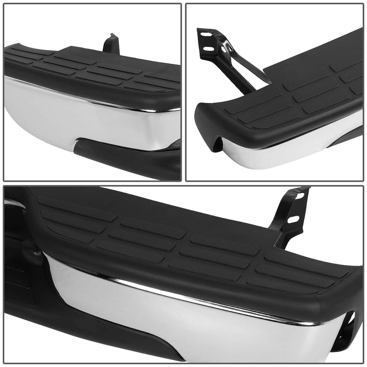 DNA MOTORING ZTL-Y-0043 Rear Step Bumper Assembly Replacement