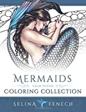 Mermaids - Calm Ocean Coloring Collection (Fantasy Art Coloring by Selina) (Volume 2)