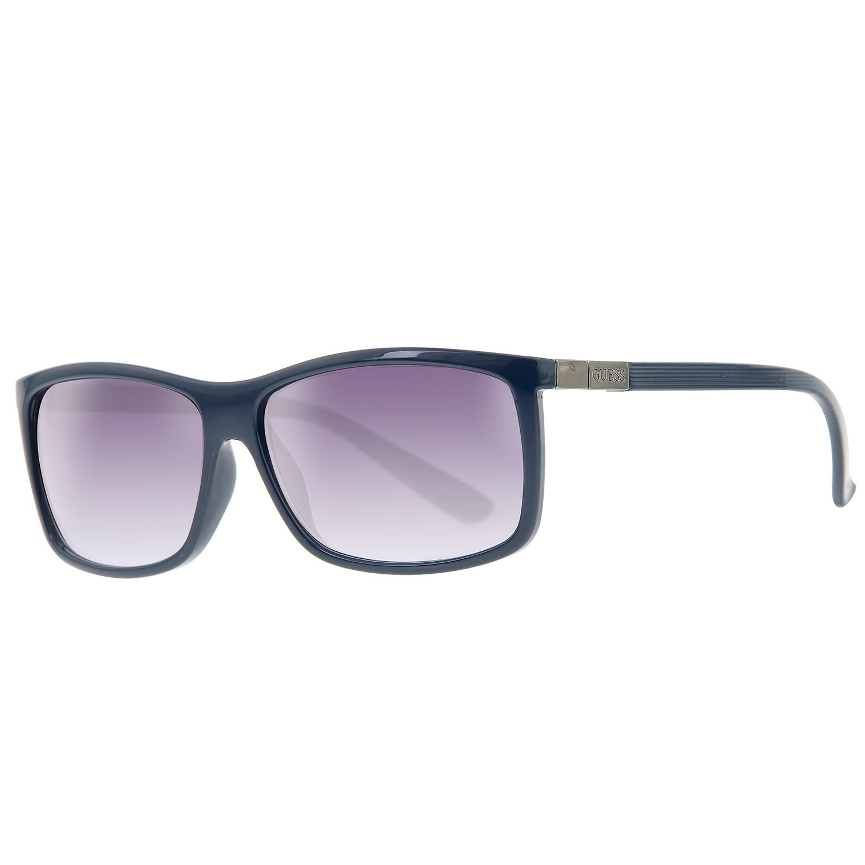 GUESS Gafas de sol para hombre azul guf118-bl-35: Amazon.es ...