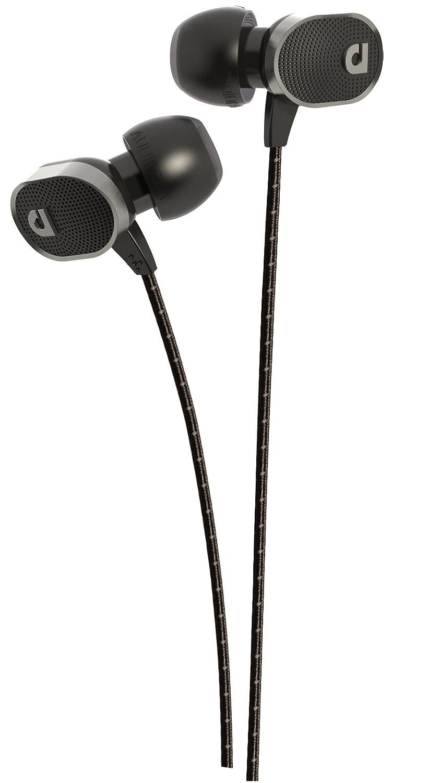 AudioFly AF78 Black Mic Earphones Black AF78 Marque Black Mic