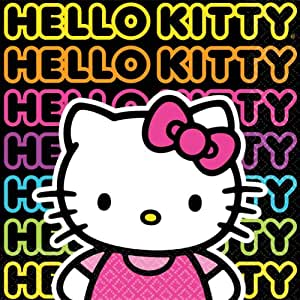 Hello Kitty Tween Beverage Napkins