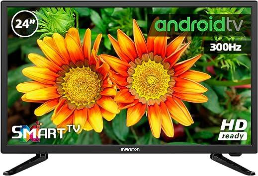 Television LED 43 Pulgadas Blanco INFINITON Smart TV (TDT2, HDMI ...