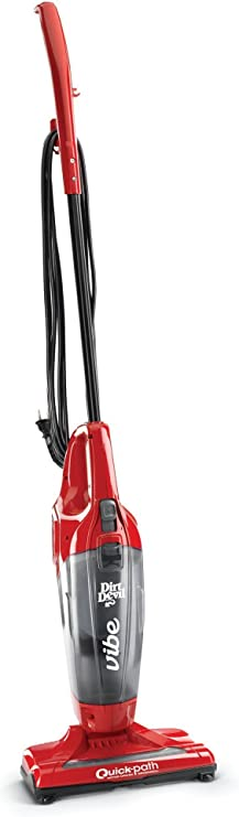 Dirt Devil Vibe 3 In 1 Vacuum Cleaner Lightweight Corded Bagless Stick Vac With Handheld Sd20020 Red Upright Vacuums