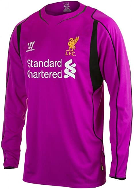 Liverpool guerrero mens genuino casa violeta portero fútbol ...